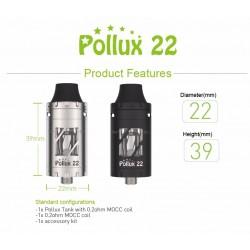 Vapwiz Pollux 22 Sub-Ohm Tank