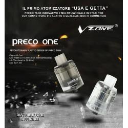 Atomizzatore Preco Tank Mesh coil Vzone - Clear 3pz