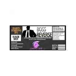 AROMA CONCENTRATO TWISTED - BOSS REVERSE - 10 ML
