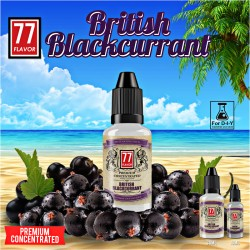 Concentrato British Blackcurrant 10mL [Premium 77 Flavor]